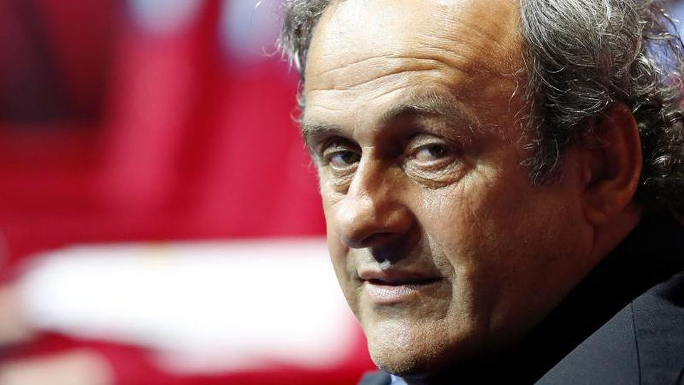 Soll in Polizeigewahrsam genommen worden sein: Michel Platini. Foto:Sebastien Nogier/EPA File