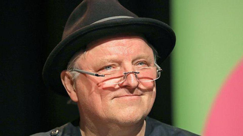 Axel Prahl beim Literatur-Festival Lit.Cologne. Foto: Oliver Berg