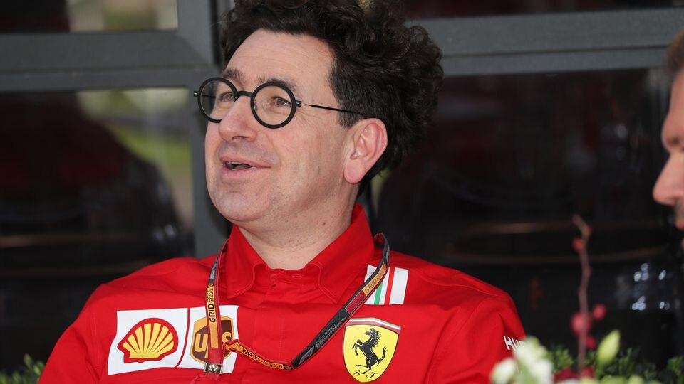 Mattia Binotto blickt optimistisch auf die neue F1-Saison