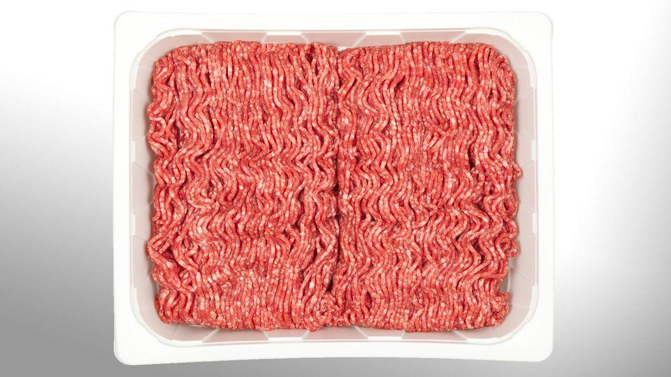 Rückruf wegen Kunststoffteilchen im Aldi-Hackfleisch. (Symbolbild)
