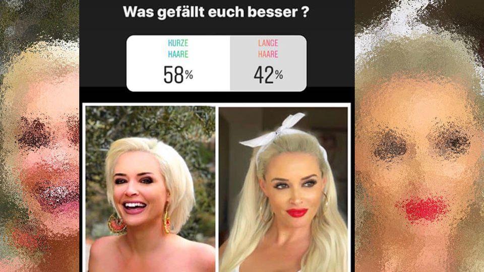Kurze Haare oder wieder lange Mähne: Welcher Look gefällt den Fans von Daniela Katzenberger besser?