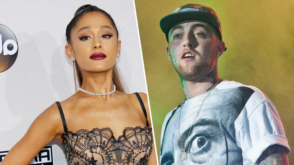 Rapper Mac Miller war zwei Jahre lang an Ariana Grandes Seite