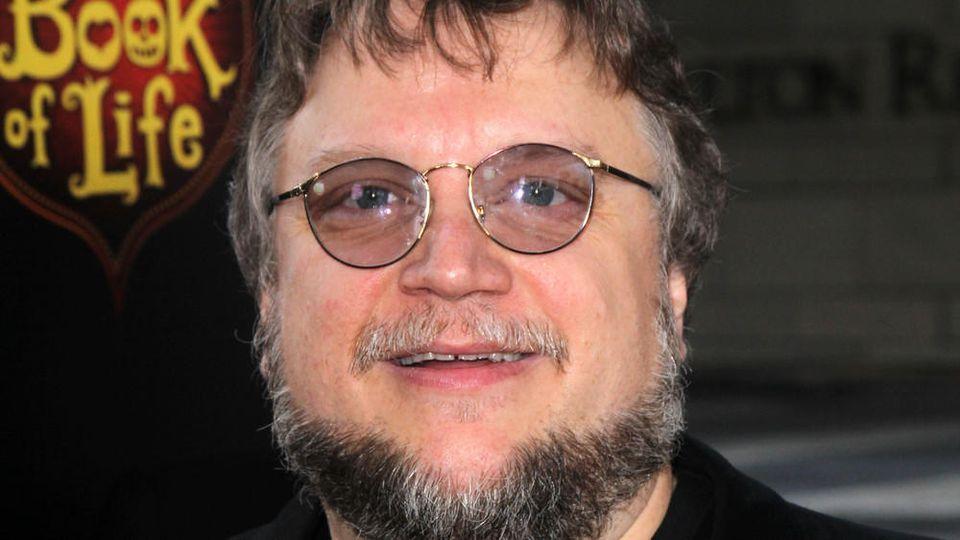 Guillermo del Toro auf einem Event in Los Angeles