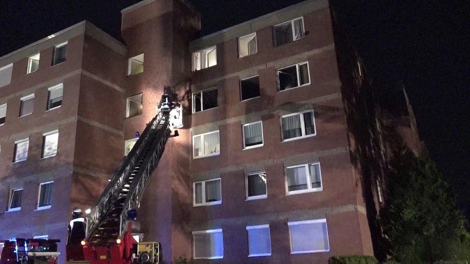 Feuer in Wohnung in Holzwickede nahe Dortmund