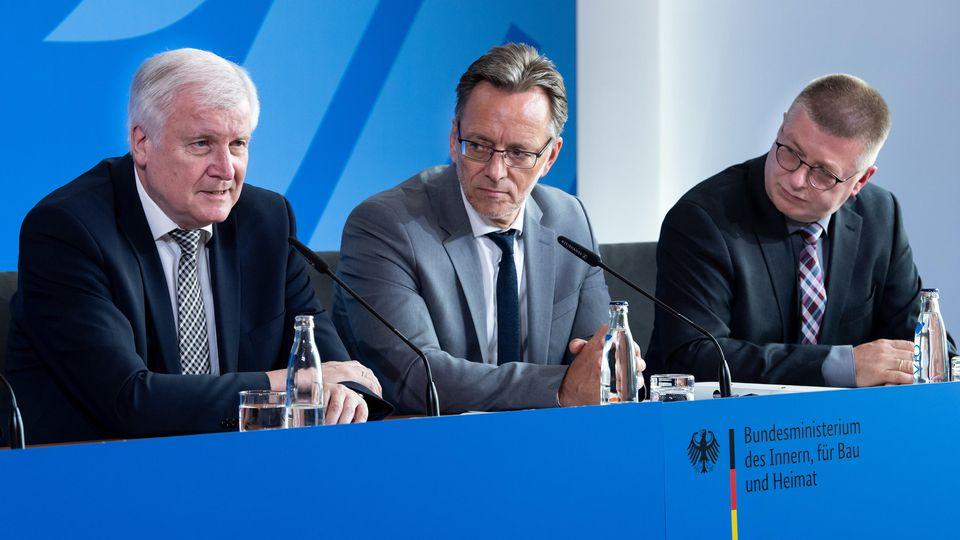 Pressekonferenz zum Mordfall Walter Lübcke