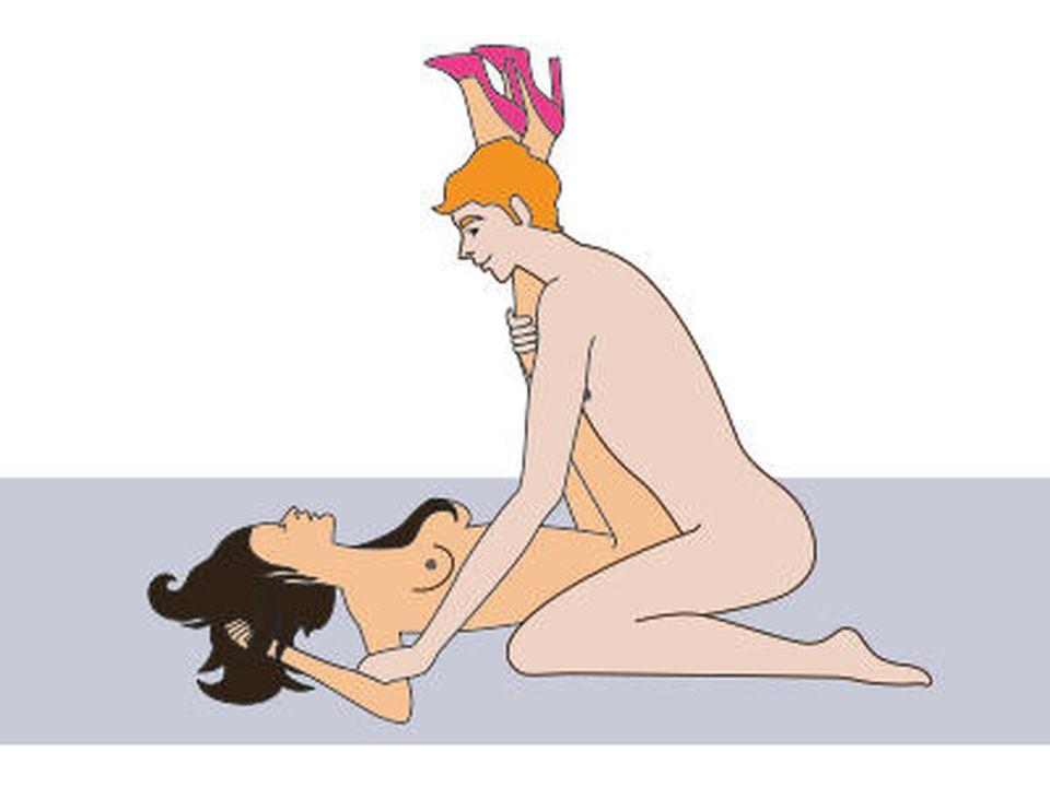 sexy Frau quietscht