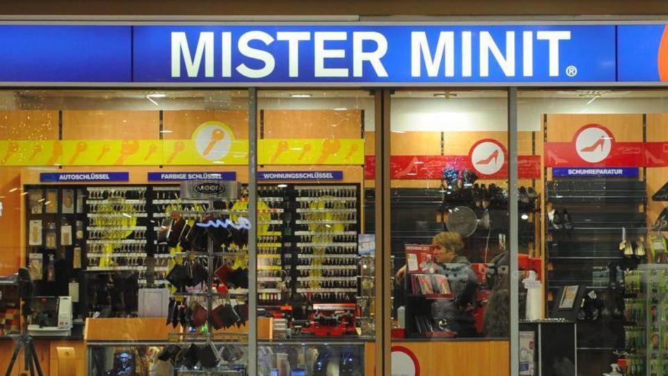 """Ein Geschäft der Kette """"Mister Minit"""". Foto: picture alliance / dpa"""