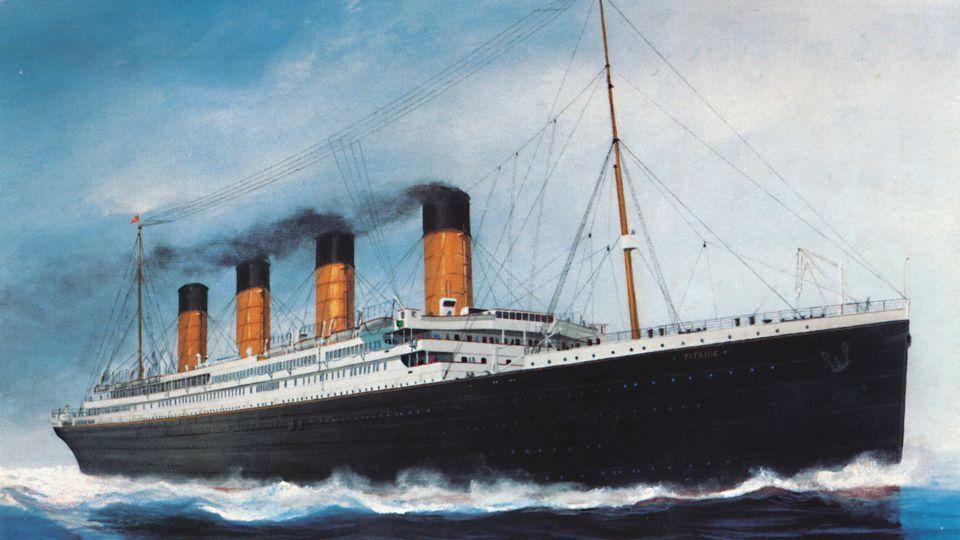Die RMS Titanic sank am 15. April 1912.