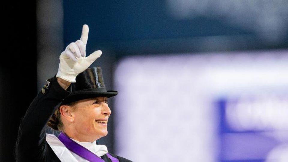 Gewann ihre 19. EM-Goldmedaille: Isabell Werth. Foto: Rolf Vennenbernd
