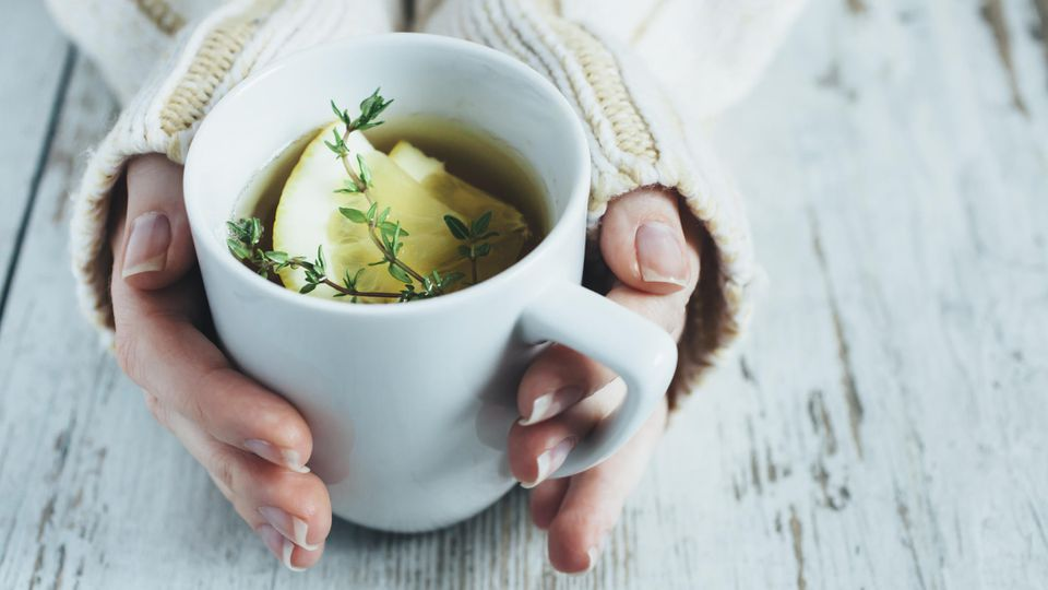 Heiße Zitrone - sauer macht wach