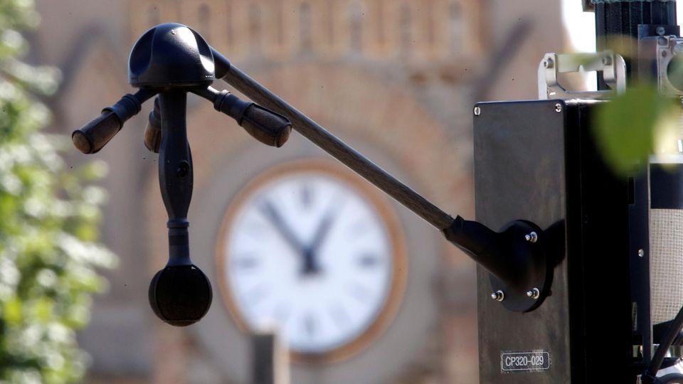 In Villeneuve-le-Roi bei Paris wird das Lärmradar getestet.