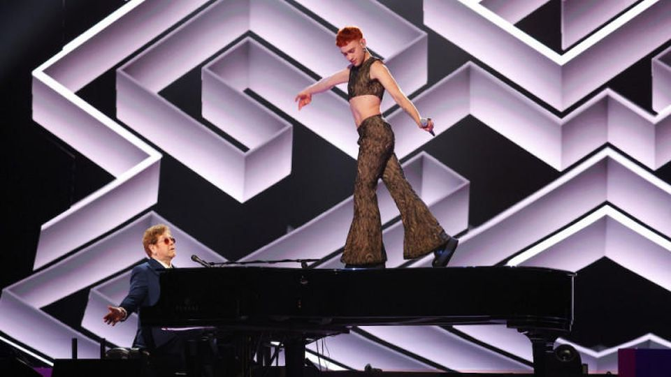 Sir Elton John und Olly Alexander
