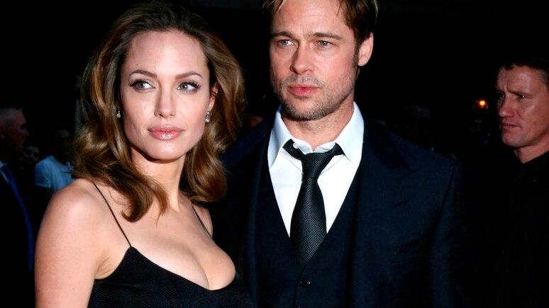 Bild aus glücklichen Tagen: Angelina Jolie und Brad Pitt.