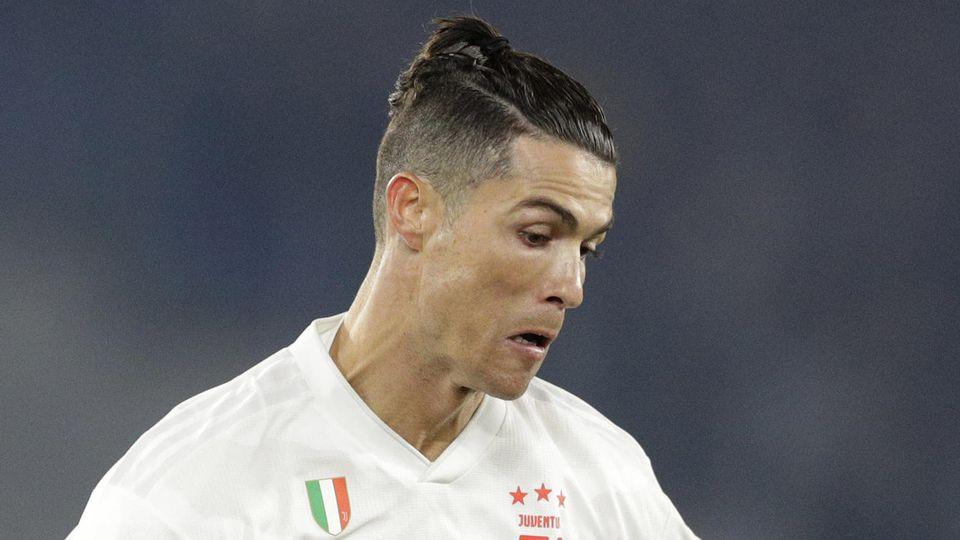 "Cristiano Ronaldo mit seinem ""Man-Bun"""