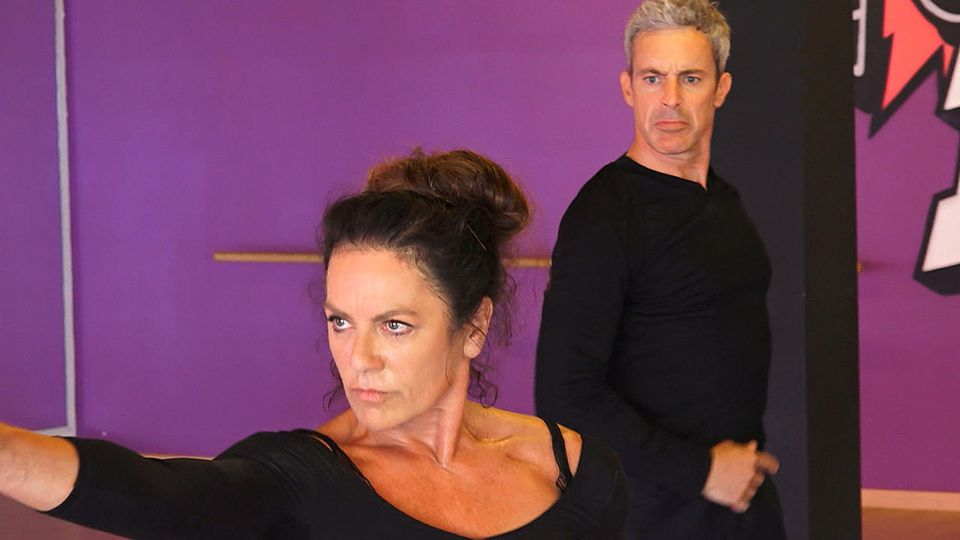 """Christine Neubauer und Gedeon Burkhard treten zusammen bei """"Dance Dance Dance"""" 2017 an."""