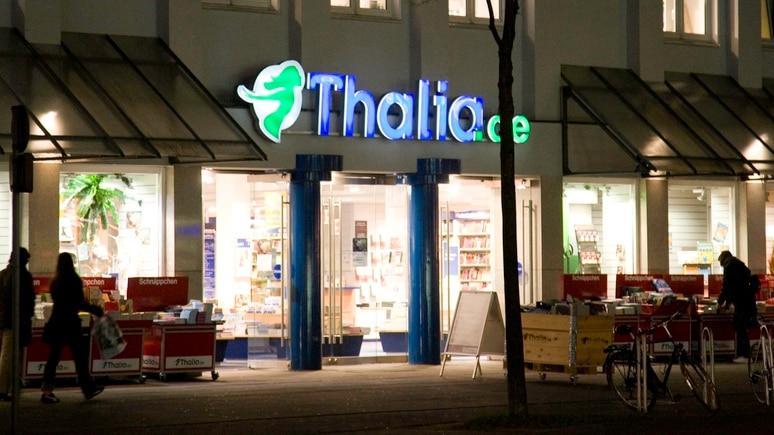 Filiale der Buchhandelskette Thalia in Bielefeld.