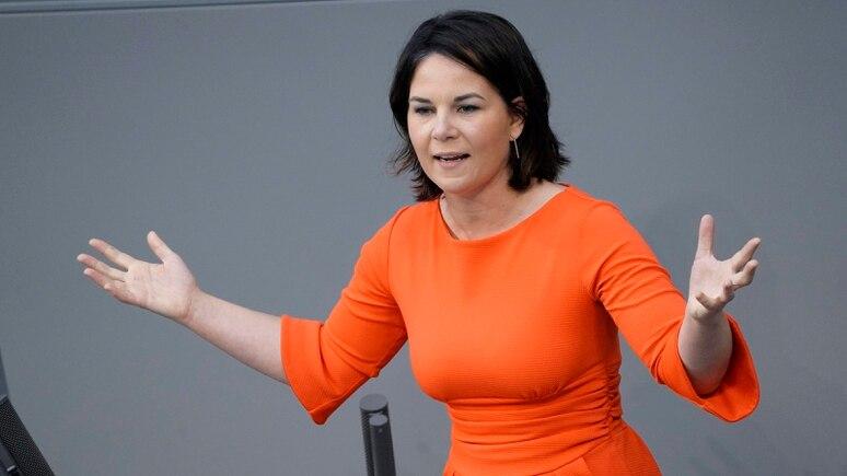 Muss sich für die Inhalte ihres neuen Buches rechtfertigen: Grünen-Kanzlerkandidatin Annalena Baerbock.