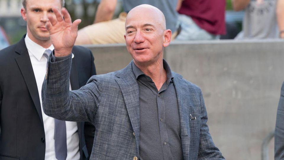 Jeff Bezos setzt ein Zeichen