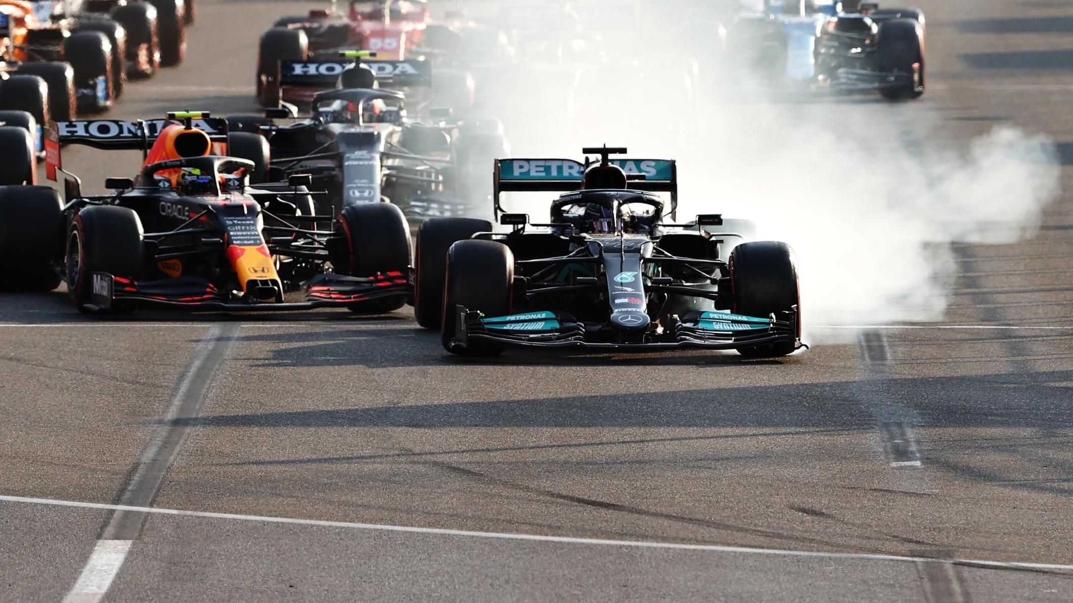 Lewis Hamilton verpasste in Baku den Sieg