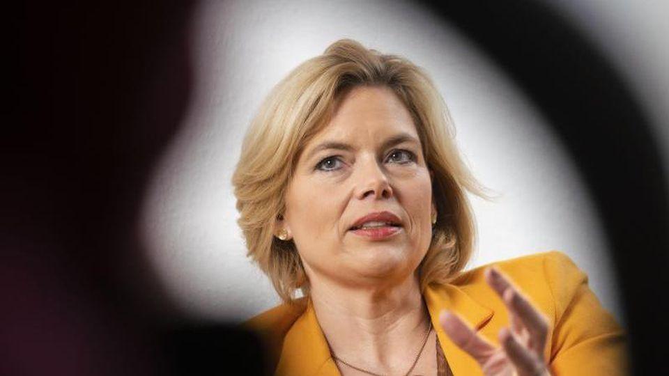 Julia Klöckner, rheinland-pfälzische CDU-Landesvorsitzende und Bundeslandwirtschaftsministerin. Foto: Frank Rumpenhorst/dpa