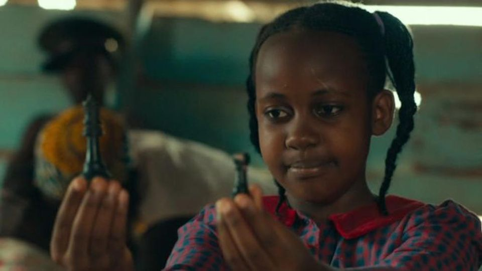 "Nikita Pearl Waligwa in ihrer Rolle als Gloria in ""Queen of Katwe"""