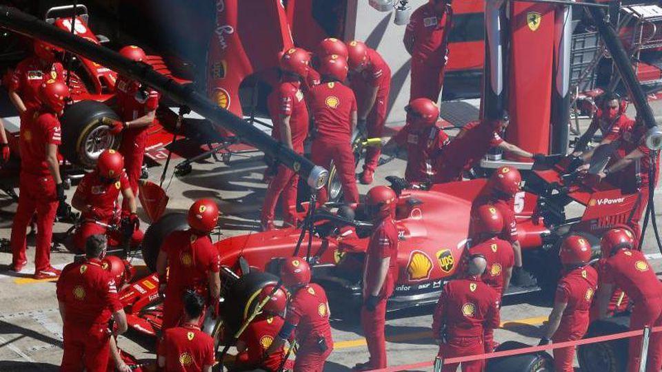 Die Formel 1 wird am 13. September auf der Ferrari-Rennstrecke in Mugello Station machen. Foto: Darko Bandic/AP Pool/dpa