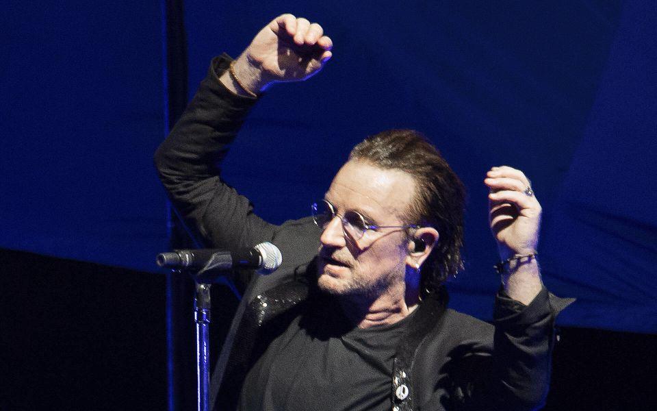 Bono arbeitet mit Graffiti-Künstlern zusammen