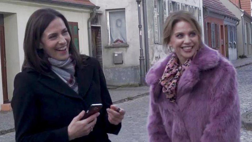 GZSZ: Ulrike Frank gemeinsam mit Gisa Zach