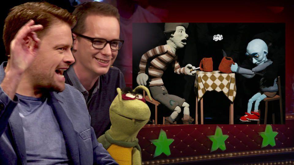 """Der Bühnen-Comic von """"Half past selber schuld"""" begeistert die """"Puppenstars""""-Jury"""