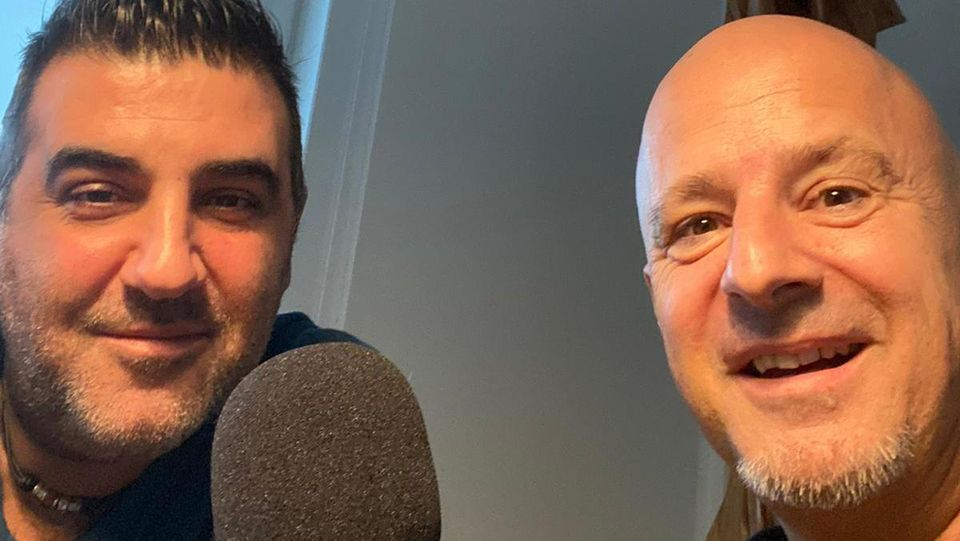 Detlef Steves spricht in Deffis Woche mit seinem Menschen der Woche, Altenpfleger Bachisio Fois.