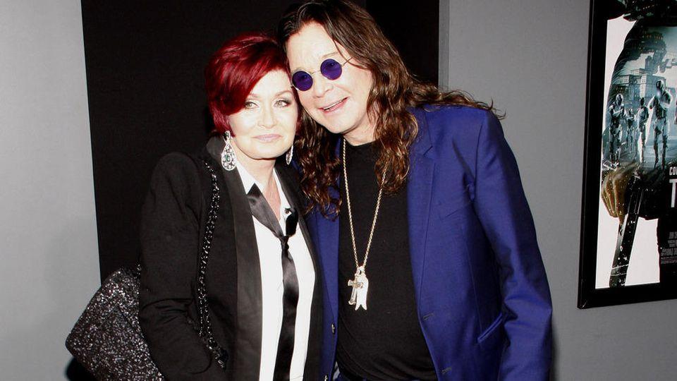 Sharon und Ozzy Osbourne halten in guten wie in schweren Tagen zusammen