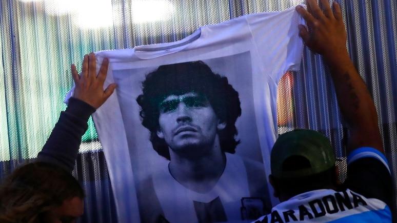 Legende bleibt Legende: Diego Maradona.