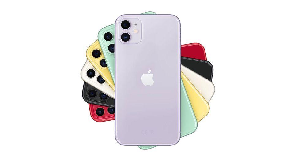 Das iPhone 11 bekommen Sie bei Media Markt mit Vertrag aktuell vergleichsweise günstig.