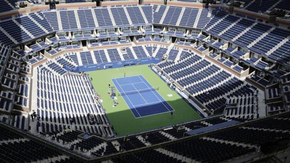 Die US Open der Tennis-Profis in New York sollen vom 31. August bis 13. September stattfinden. Foto: Peter Morgan/AP/dpa