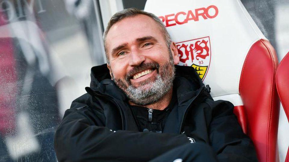 Trainer Tim Walter vom VfB Stuttgart. Foto: Tom Weller/dpa/Archivbild