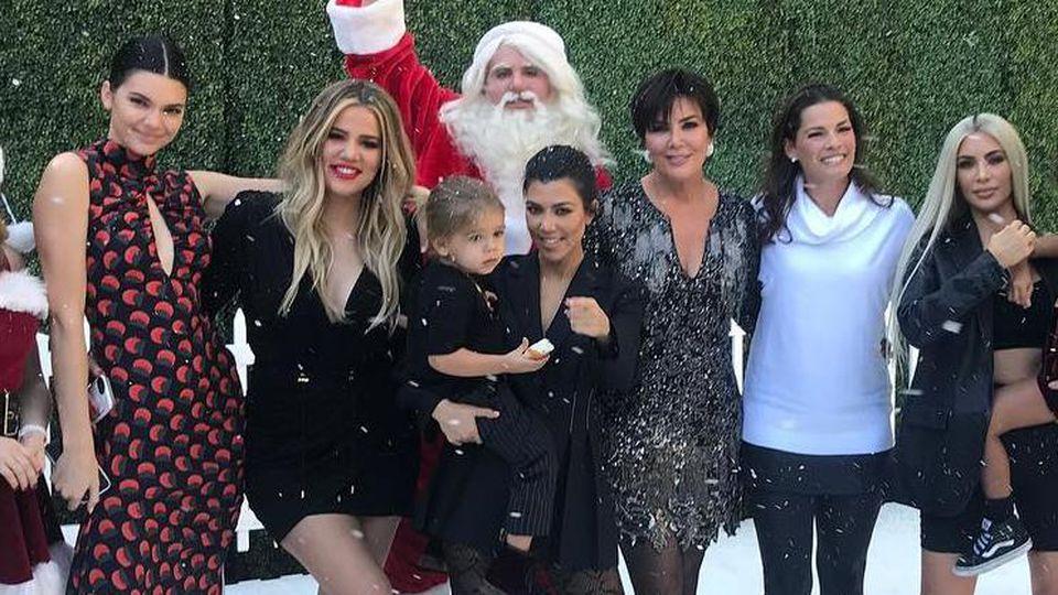 So wie hier, sahen die  Kardashian-Jenners früher nicht aus.