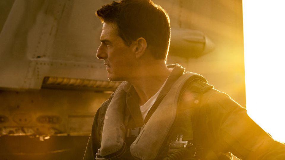 """Tom Cruise wird einmal mehr zu Captain Pete """"Maverick"""" Mitchell."""