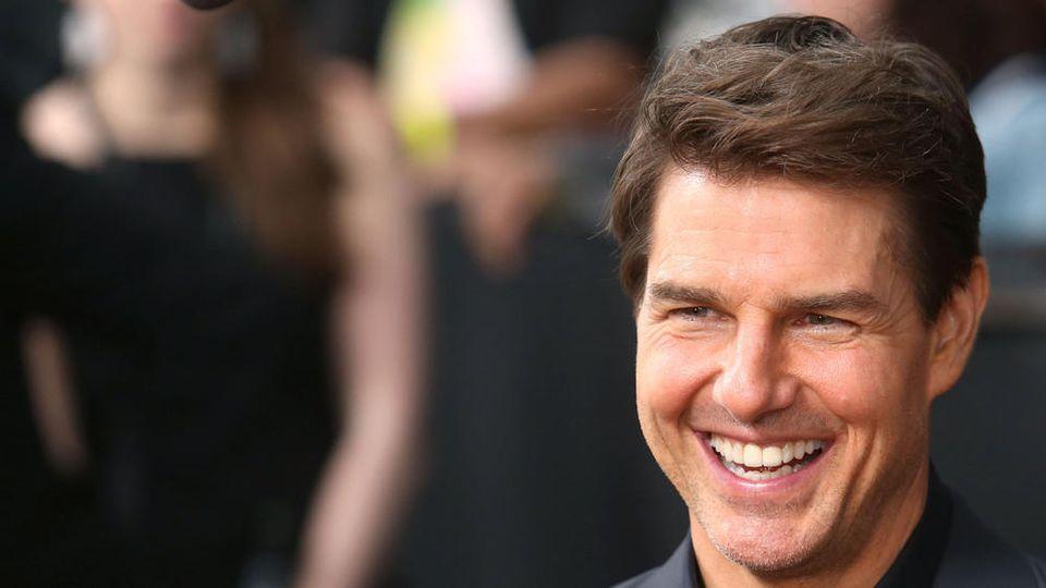 Auch privat ein Actionstar: Schauspieler Tom Cruise