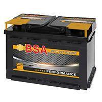BSA Autobatterie 12V 80AH 790A/EN
