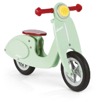 Janod J03243 - Laufrad Holz Groß Scooter
