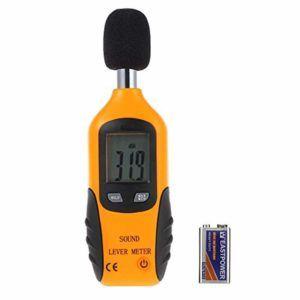 Welche Arten von Schallpegelmessgerät gibt es in einem Testvergleich?