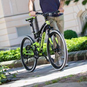 Die einfache Bedienung vom Mountainbike Testsieger im Test und Vergleich