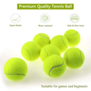 Tennisbälle und ihre Eigenschaften im Vergleich zueinander