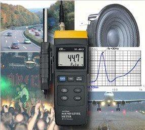 Die verschiedenen Einsatzbereiche aus einem Schallpegelmessgerät Testvergleich