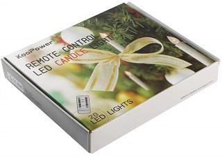 Die Weihnachtsbaumbeleuchtung kabellos von Koopower ist sehr gut verpackt im Test