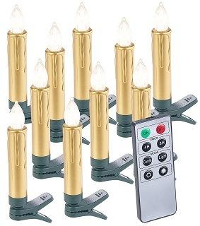 Die Weihnachtsbaumbeleuchtung kabellos von Lunartec ist sehr stabil im Test
