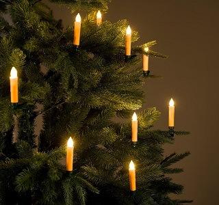 Die Weihnachtsbaumbeleuchtung kabellos von Lunartec ist sehr leistungsstark im Test