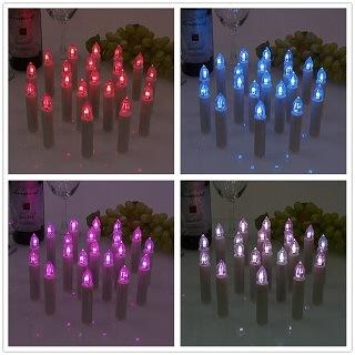 Die 30er Weihnachtsbaumbeleuchtung kabellos von Mtech ist in verschiedenen Farben erhältlich im Test