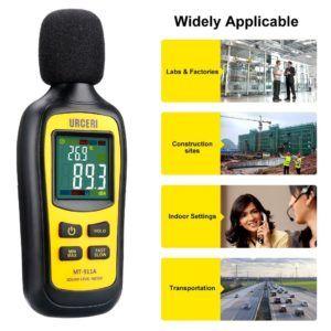 Nach diesen Testkriterien werden Schallpegelmessgerät bei uns verglichen
