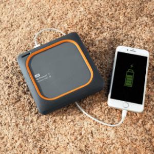 USB bei der Wlan Festplatte im Test und Vergleich